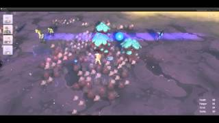 Proven Lands dev test gameplay footage 2