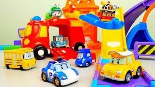 Робокар Поли и его друзья играют в прятки - Видео для ребёнка с машинками Robocar Poli