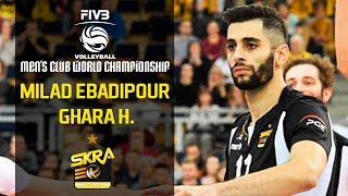 Milad Ebadipour Gharahassanlou میلاد عبادی پور | Club World Championship 2018
