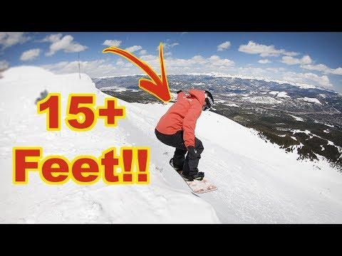 Dropping The Cornice On Peak 6 At Breckenridge - (Season 3, Day 133)