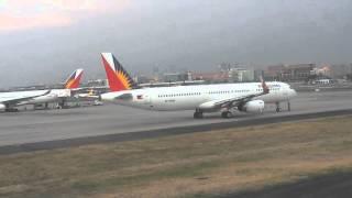 "CEBU PACIFIC Landing to Manila at Ninoy Aquino International Airport (NAIA Terminal 3) ""05-31-2015"""