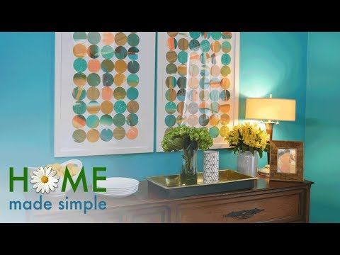 DIY Wall Art That Transforms Kids' Designs into Gallery-Worthy Pieces | Home Made Simple | OWN