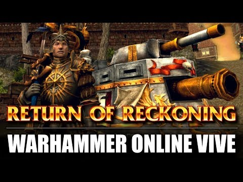 WARHAMMER ONLINE… ESTÁ VIVO!! / RETURN of RECKONING y PRIMEROS PASOS