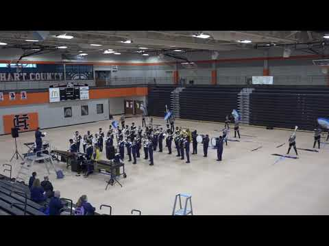 Dacula High School Marching Band   Indoor Competition