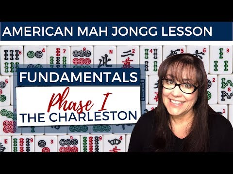 American Mah Jongg Lesson Fundamentals 9 Phase I The Charleston (mock Card)