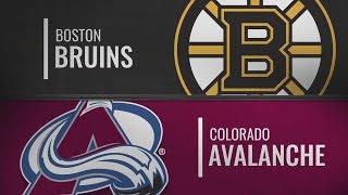 Колорадо vs Бостон | Boston Bruins at Colorado Avalanche | NHL HIGHLIGHTS | НХЛ ОБЗОР МАТЧА