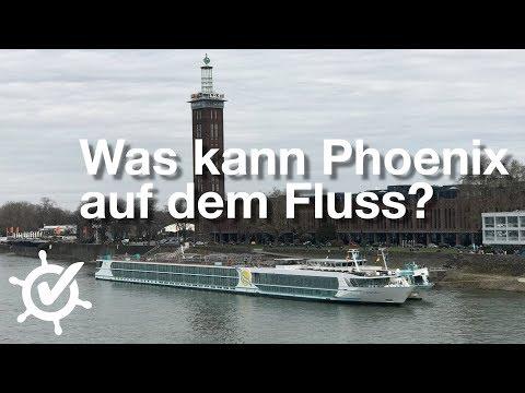 Was Kann Phoenix Auf Dem Fluss? - Vlog #1 - MS Alena (2018)