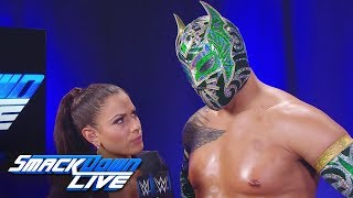 "Andrade ""Cien"" Almas attacks Sin Cara: SmackDown LIVE, June 5, 2018"