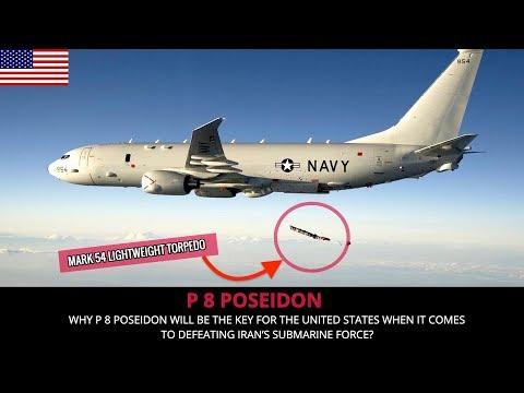 AMERICAN P 8 POSEIDON - SUBMARINE KILLER !!