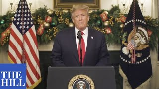 JUST IN: President Trump releases NEW YEARS EVE message