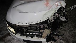 Смертельная авария Land Rover и мотоцикл