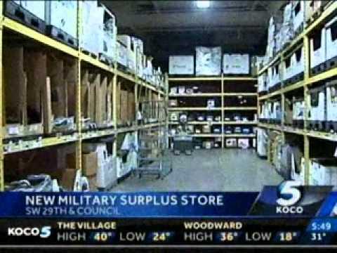 7f77156c61b Oklahoma City Warehouse Selling Military Surplus to the Public -  LiquidityServices.com
