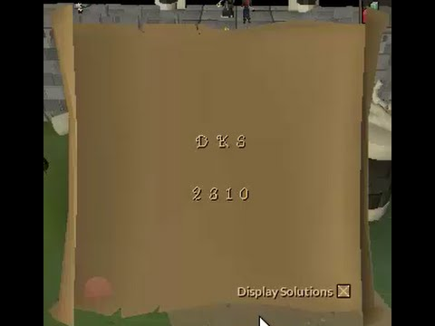 how to get to dks osrs