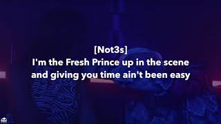 Gambar cover Geko x Not3s - Will Smith [Lyrics]