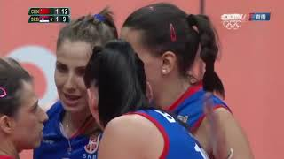 Final - Volleyball Women Olympic 2016 l Serbia vs China l Part 2