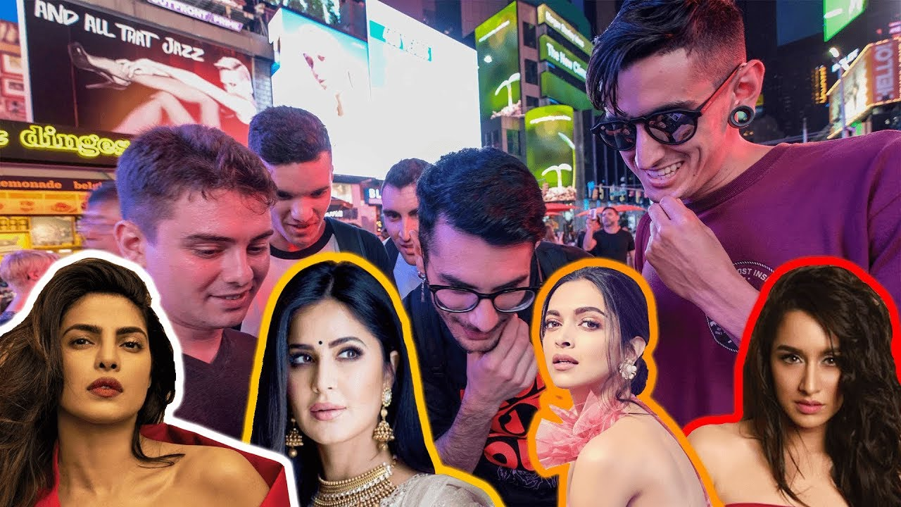 Asking Americans to Pick the Most Beautiful Bollywood Actress?!