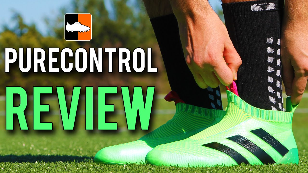 0cf13cd70e3 Review ACE16+ Purecontrol Boots adidas Laceless Soccer Cleats - YouTube