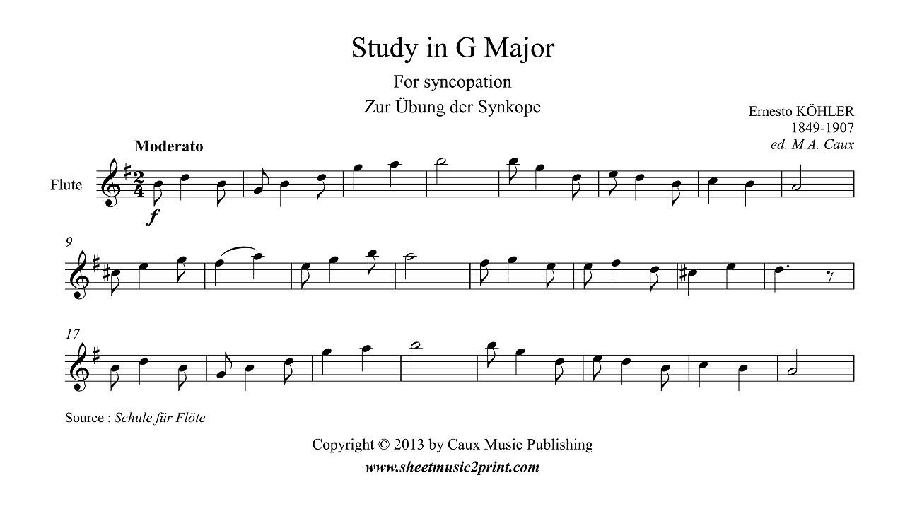 syncopation pdf