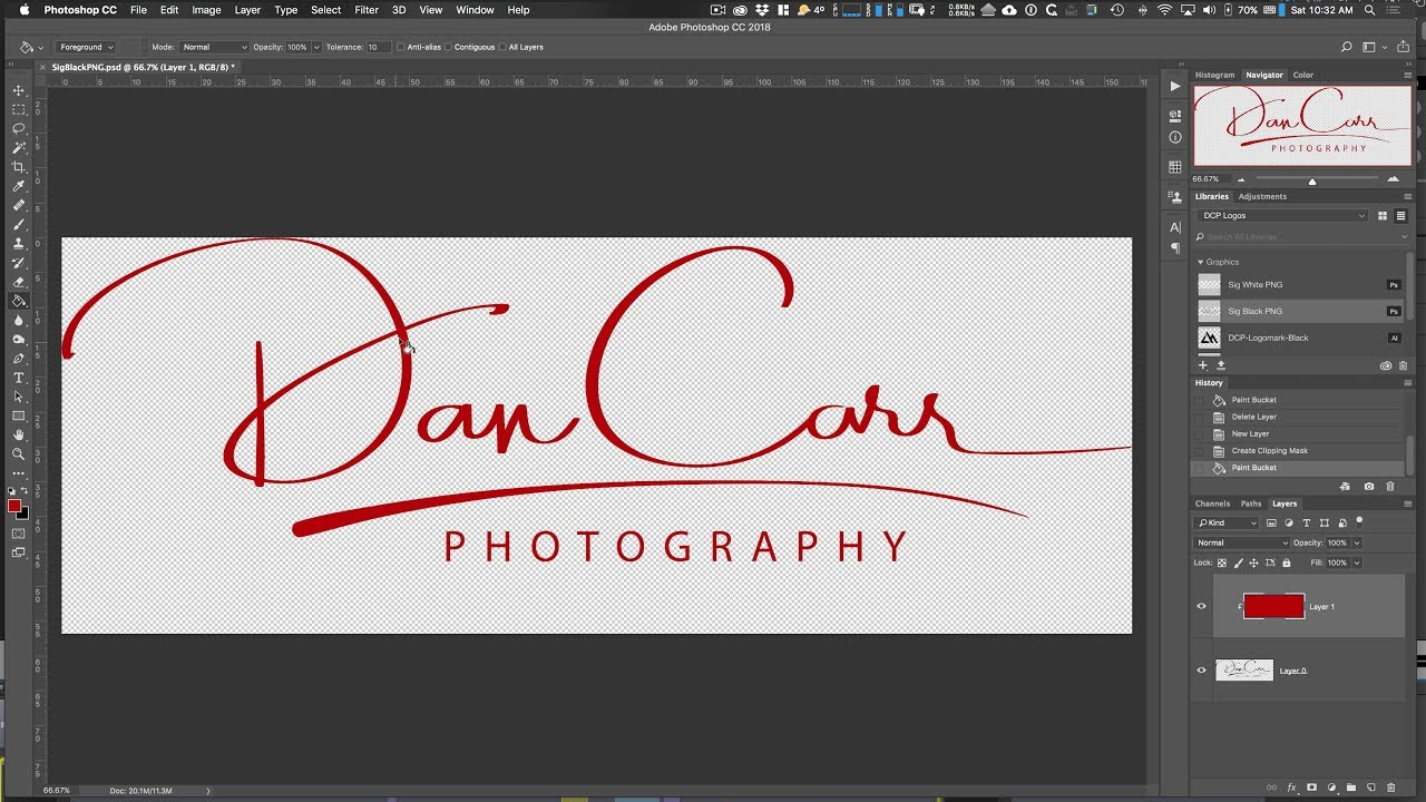 Review: Getting a Photography Logo Created by Photologo