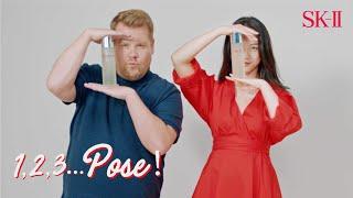 SK-II #PITERAmasterclass: 「1, 2, 3… 擺 POSE!」由 James Corden 和湯唯主演