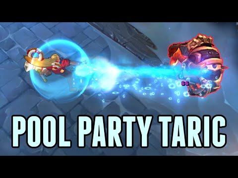 Pool Party Taric LoL Skin Spotlight (League of Legends)