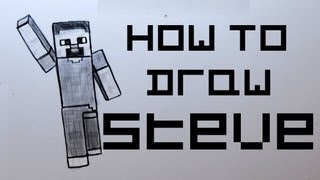 Ep. 78 How to draw Minecraft Steve