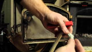Changing the Gasket on my WoodStove