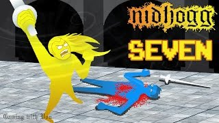 Nidhogg with Beardless - Lots of Bleeding Out - Ep 7