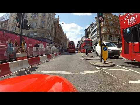 SINNER MANGO FIRST RIDE IN CENTRAL LONDON SUNDAY 5 2015