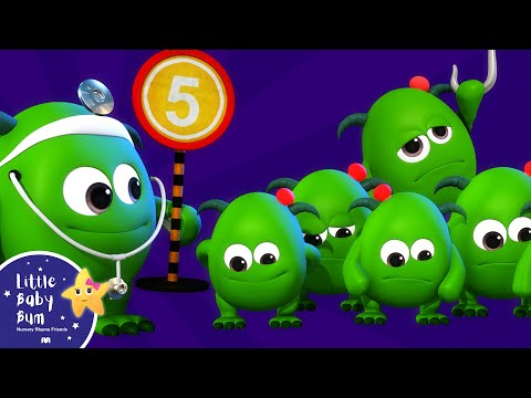 Five Little Monsters | BRAND NEW! | Halloween Songs | Nursery Rhymes & Kids Songs | Little Baby Bum