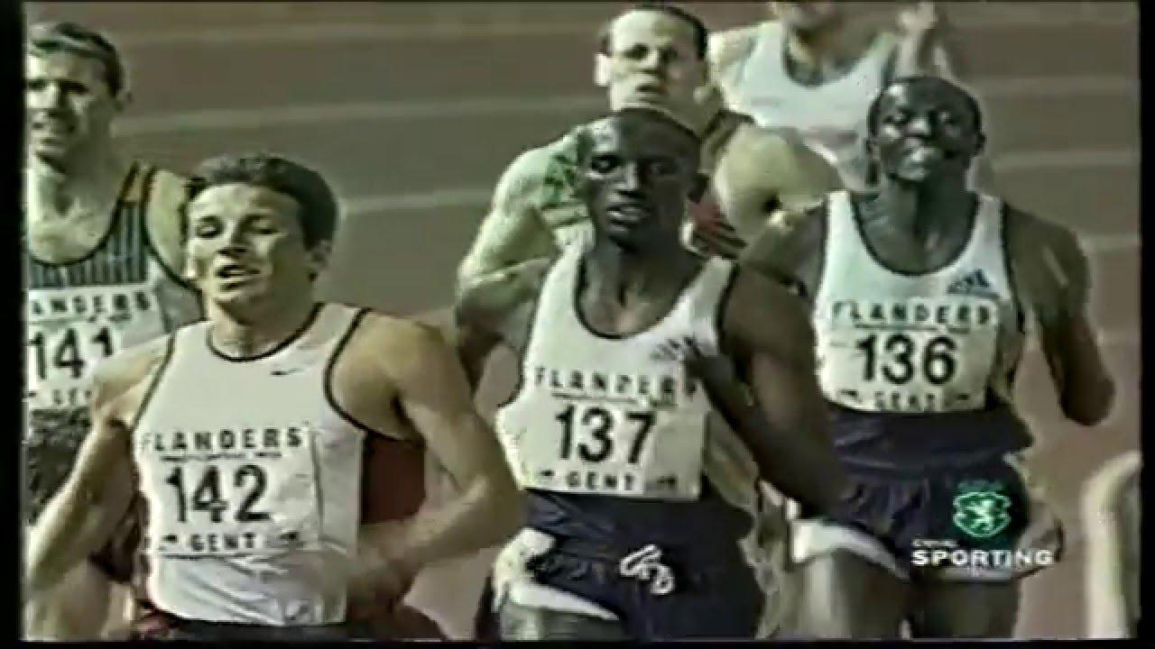 Atletismo :: Rui Silva (Sporting) bateu recorde nacional dos 800 metros em Gent 05/02/1999