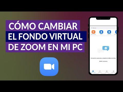 Cómo Cambiar el Fondo Virtual de Zoom de mi PC - Fácil y Rápido