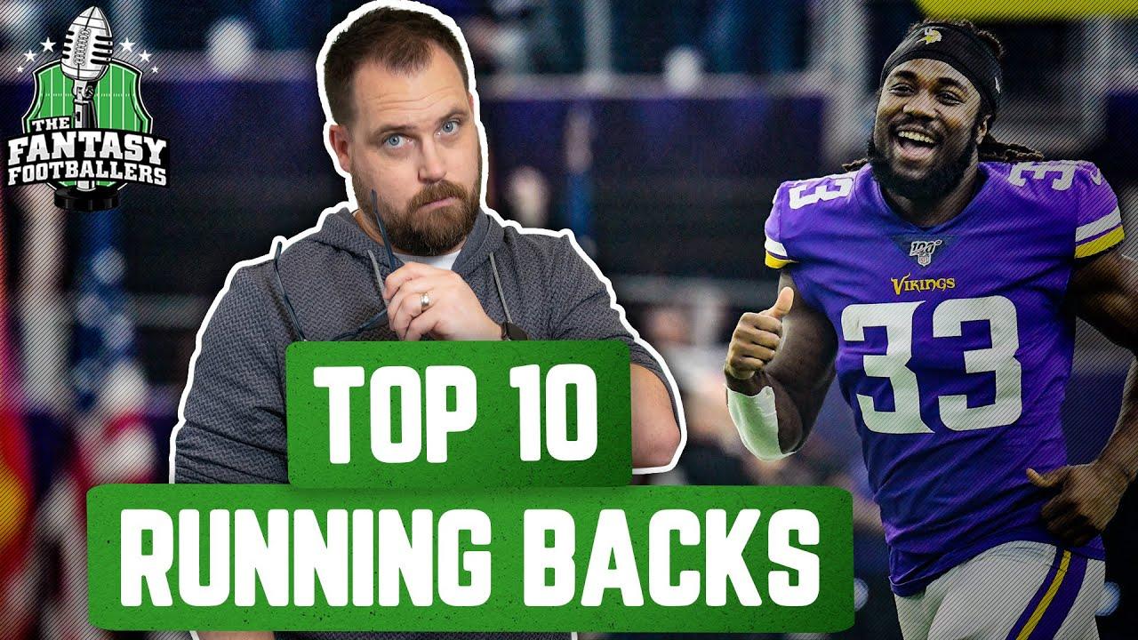 Fantasy Football 2020 - Top 10 RB Rankings + Best Ball Breakdown - Ep. #915