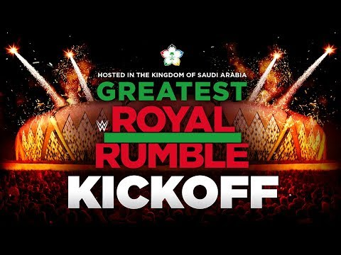 Greatest Royal Rumble Kickoff: April 27, 2018