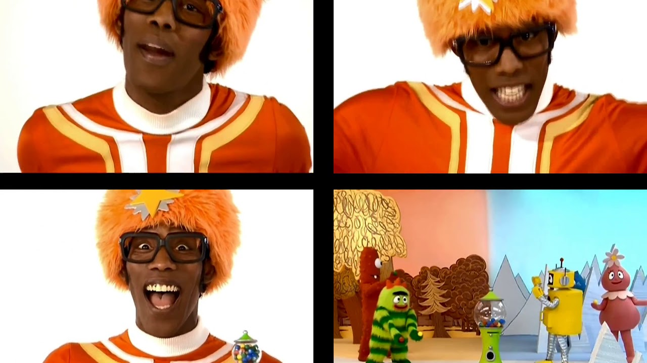 Yo Gabba Gabba Songs From Greetings Episode Hello Name Game