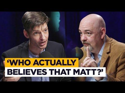 Did God 'sacrifice Himself To Himself For A Weekend'? Glen Scrivener Answers Matt Dillahunty
