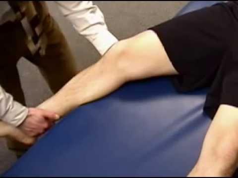Teste em valgo do joelho - ligamento colateral medial