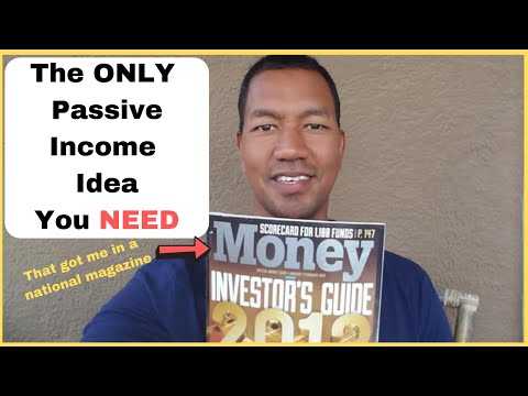 One Passive Income Idea (that landed me in Money Magazine as a future Millionaire)
