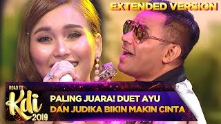 Download lagu PALING JUARA! Duet Ayu Ting Ting dan Judika Bikin Makin Cinta - Road To KDI (3/7) PART 2