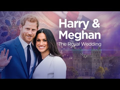 WATCH LIVE: Royal wedding of Prince Harry and Meghan Markle