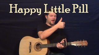 Happy Little Pill (Troye Sivan) Easy Guitar Lesson How to Play Tutorial