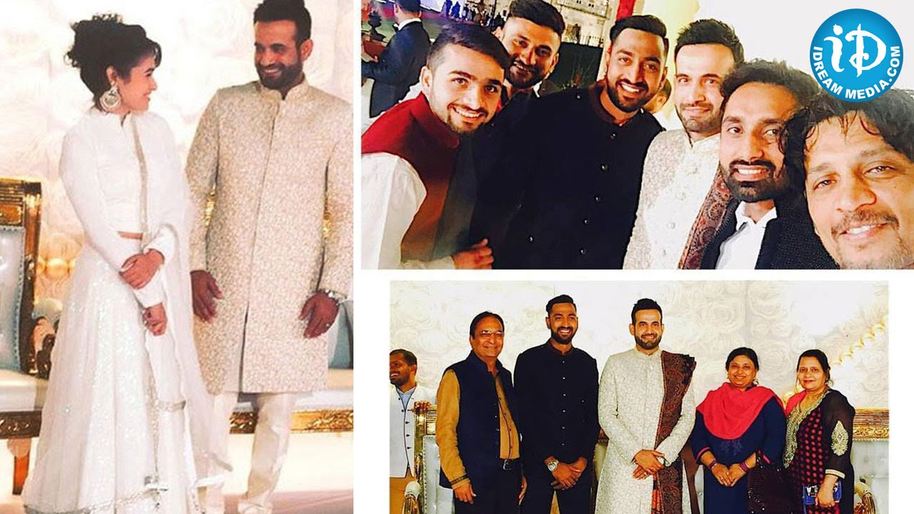 Irfan Pathan S Wedding Reception Attended By Cricketers Exclusive You