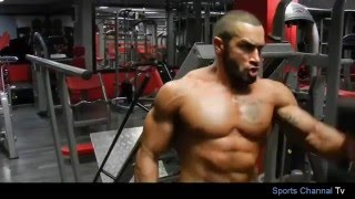 Lazar Angelov - Shoulders Workout With Slavi Goranchovski اقوى تمرينة كتف