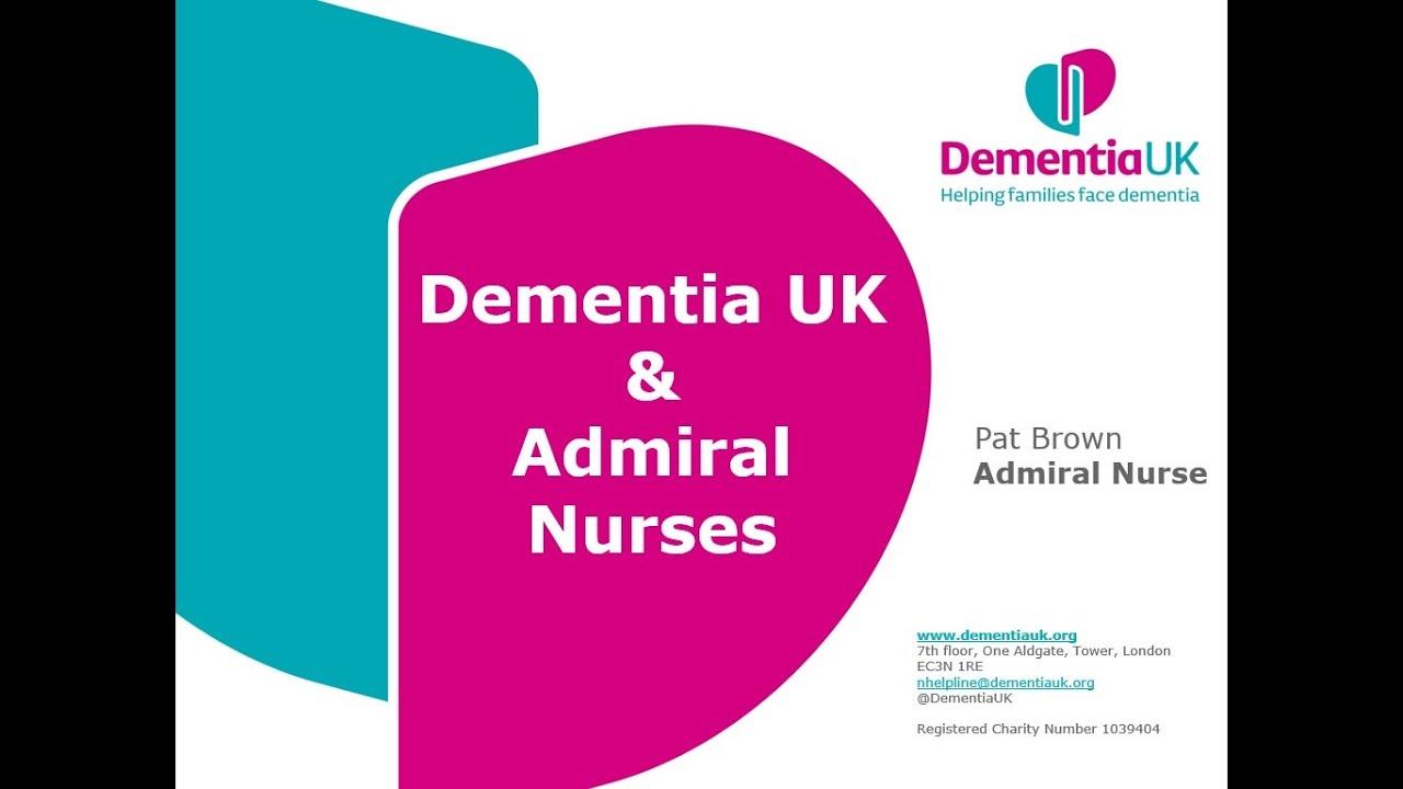 Dementia UK Talk for Tring Team Parish - 4th Aug 2020