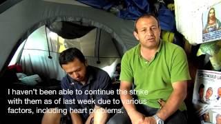ASOTRECOL Hunger Strike