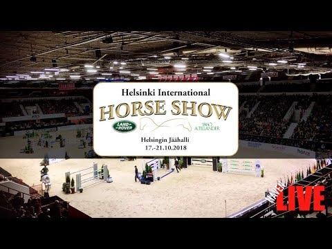 🔴 LIVE | SU | Helsinki International Horse Show | 17.-21.10.2018