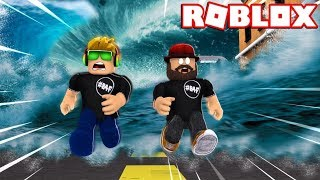 WE HAVE TO ESCAPE FLOOD IN ROBLOX