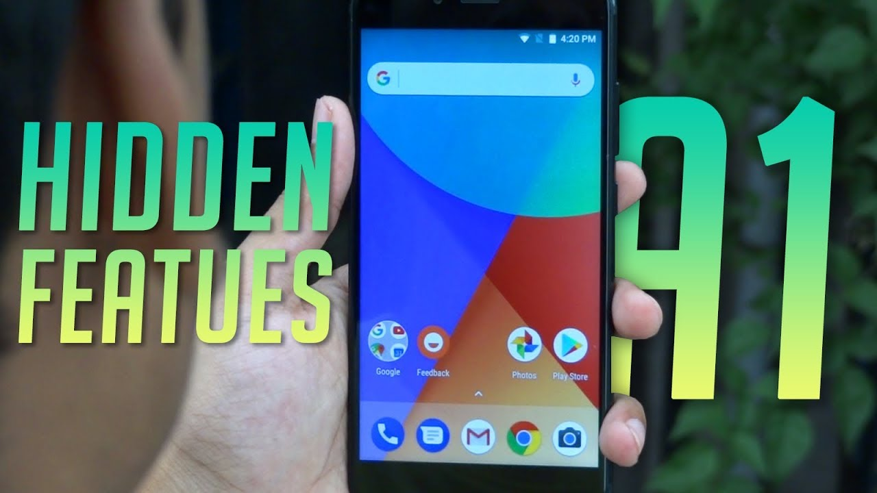 Xiaomi Mi A1 - 10 Hidden Features And Tricks You Should Know 🔥