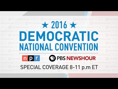 PBS NewsHour/NPR Democratic National Convention Special - Day 1