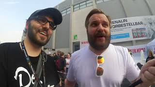 Gronkh getroffen | GamesCom 2017 Samstag